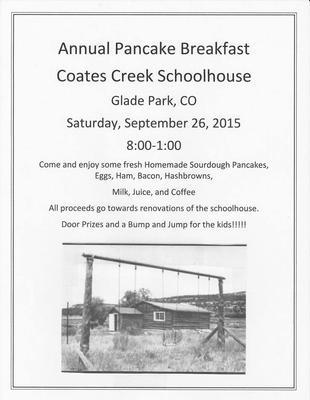 Annual Coates Creek School Pancake Breakfast