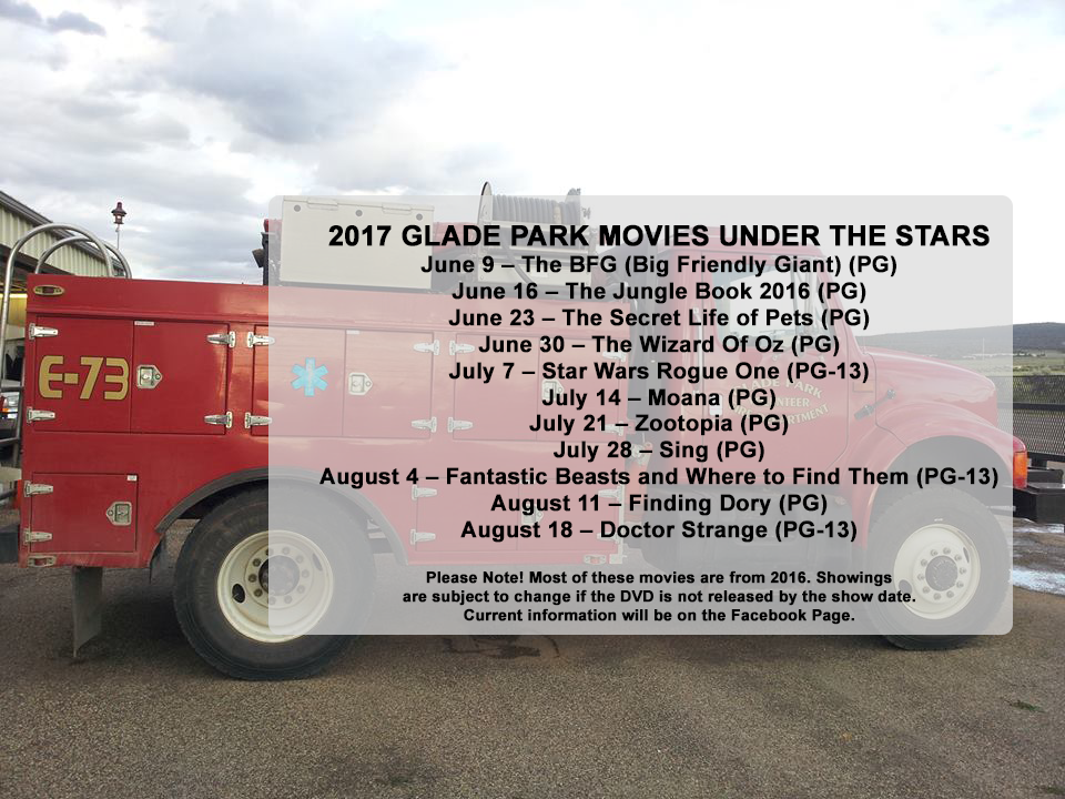 2017 Movies Under the Stars