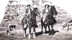 Bill & Erma Moorland at Mahoney ranch