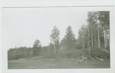 Old Lodge at Enoch's Lake