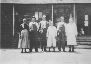 Early Settlers of Glade Parke